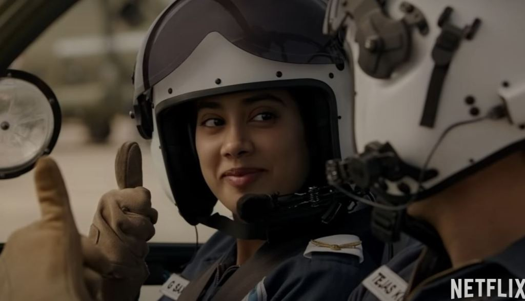 Gunjan Saxena The Kargil Girl Trailer Janhvi Kapoor Looks All Set To Scale New Heights As Flight Lieutenant Gunjan Saxena Beyond Bollywood